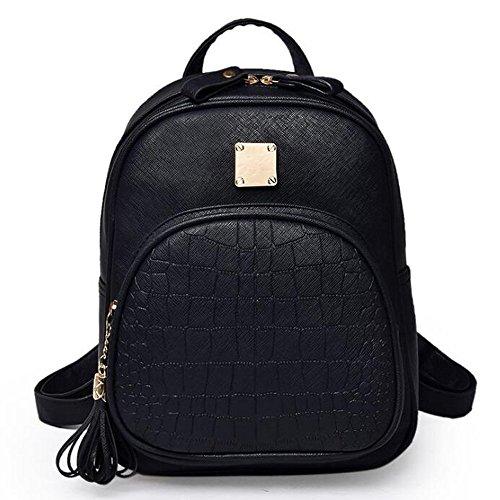 G-AVERIL GA1094-S - Bolso mochila para mujer Azul azul negro