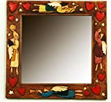 Angel Country Wall Mirror