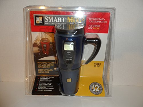 Smart Mug 2 Digital Programmable Temperature 16 Oz. Mug Hot Or Cold by JLR ()
