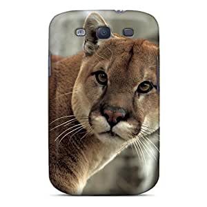 Defender Case For Galaxy S3, Watchful Cougar Pattern
