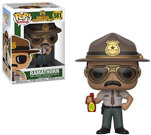 Set of 3 Super Troopers 3.75 Collectible Figures Movies Funko Pop