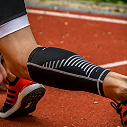 Leg Compression Socks, Calf Sleeves for Runners