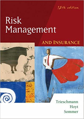 Risk Management And Insurance Book