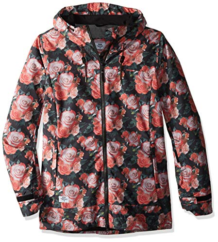 Ride Snowboard Outerwear Women's Brighton Jacket, Multi, Small (Ride Women Snowboard Jacket)
