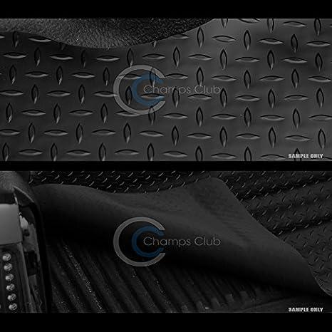 R/&L Racing Black Rubber Diamond Truck Bed Trunk Floor Mat Carpet 15-17 Colorado//Canyon 6//72