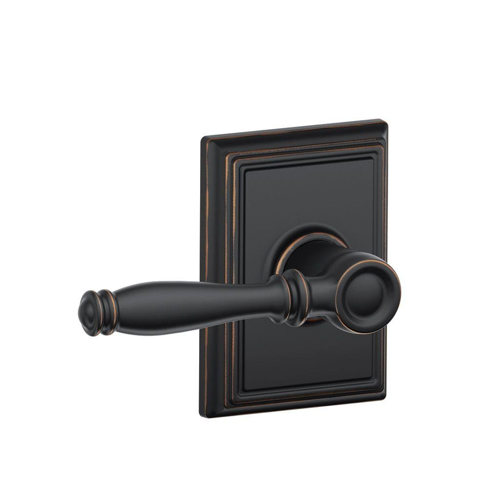 Schlage Lock Company F10ACC505CEN Lifetime Polished Brass Lever Set Passage Accent Door by Ingersoll-Rand