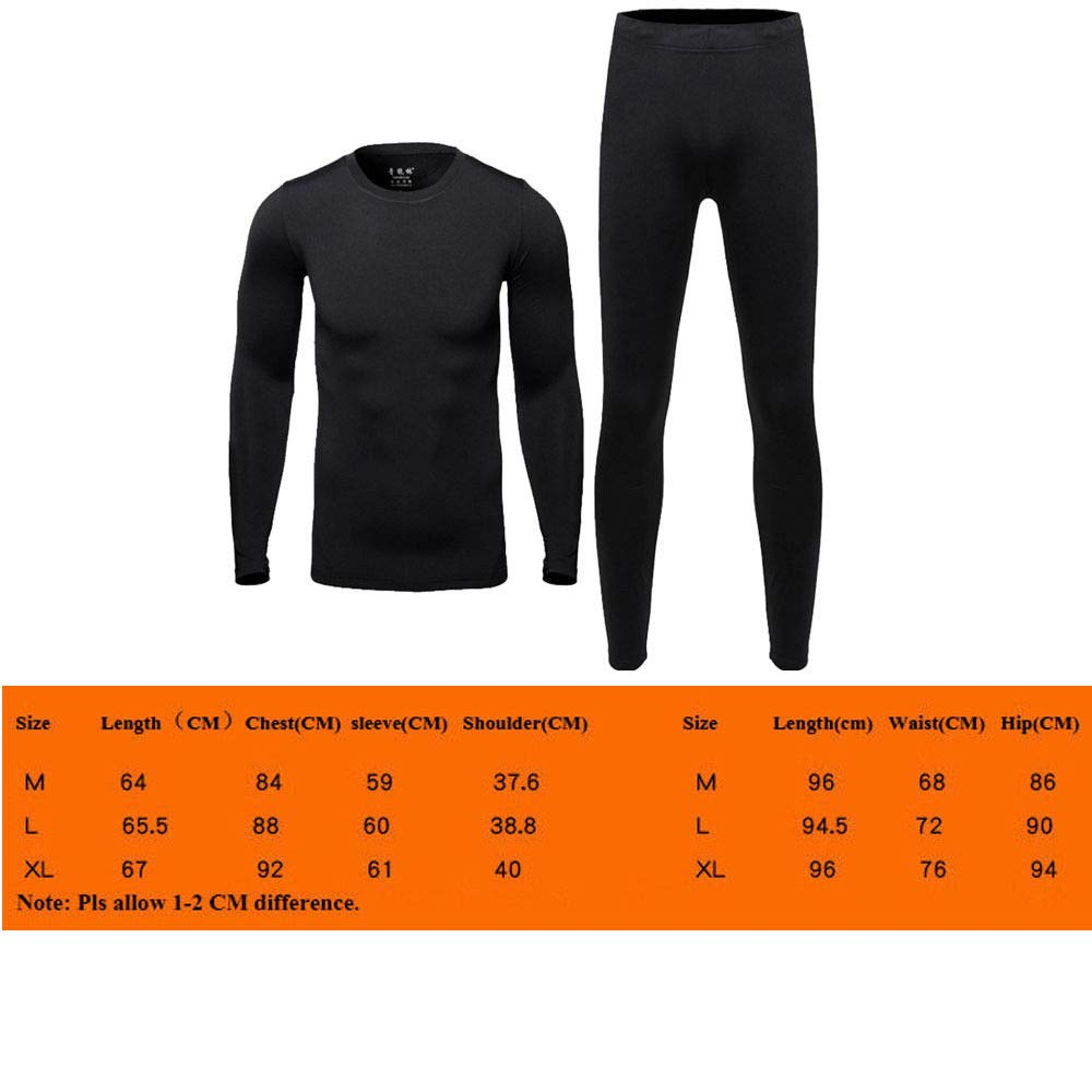 Unisex Adults Yellow Size TAG L US M Tops Winter Mens Underwear Base Layers Thermal Fleece Keep Warm Working Outside UHTH