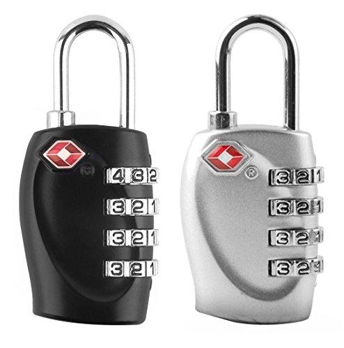 Tsa Lock Combo Padlock Combination Padlock,Tsa Locks For Luggage,Luggage  Gym Lock,Password Padlock Combo Lock 2 Packs