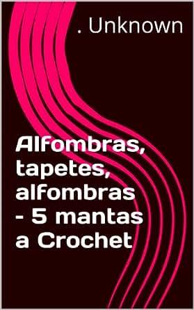 Amazon.com: Alfombras, tapetes, alfombras – 5 mantas a Crochet