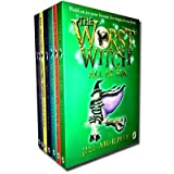 The Worst Witch 7 Books Collection Set By Jill Murphy (Wishing Star, Bad Spell, Worst Witch, Strikes Again, Saves the Day, Rescue, All at Sea)