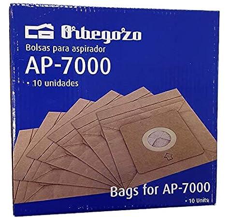 Orbegozo. Bolsas de Aspirador AP7000 (10 Bolsas): Amazon.es: Hogar