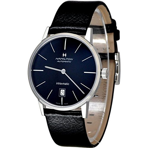ساعت مچی مردانه همیلتون مدل H38455731 با بند چرمی