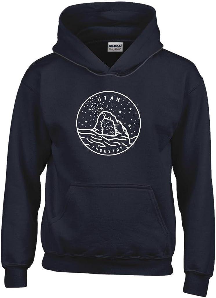 Moab Kids Sweatshirt Utah Mountain Road Youth Hoodie