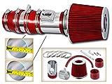 2011 accord intake - R&L racing Red Short Ram Air INTAKE System + DRY AIR FILTER Kit For 08-12 Honda Accord / 10-12 Crosstour 3.5L V6