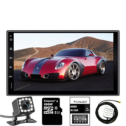 Panlelo 7 Inch 2 Din Head Unit Android 5.1 GPS Navigation Car Stereo Audio Radio 1080P Video Player (Radio Car Oem)
