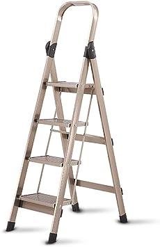 Escaleras Escalera plegable de lujo de aleación de aluminio ...