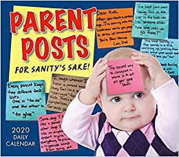 Cbu Calendar 2020 Parent Posts 2020 Calendar: For Sanity's Sake!: Sellers Publishing