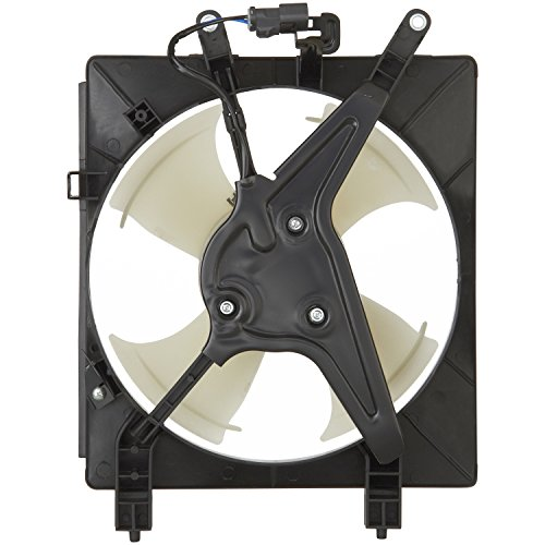 Spectra Premium CF18015 Air Conditioning Condenser Fan (Honda Civic Radiator Fan Assembly)
