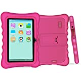 """YUNTAB Q88H Kids Edition Tablet, 7"""" Display, 8 GB, WiFi, Kids Software Pre-Installed, Premium Parent Control, Educational Game Apps (Pink)"""