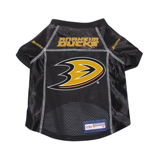Anaheim Ducks Dog Pet Premium Hockey Jersey w/ Name Tag XS