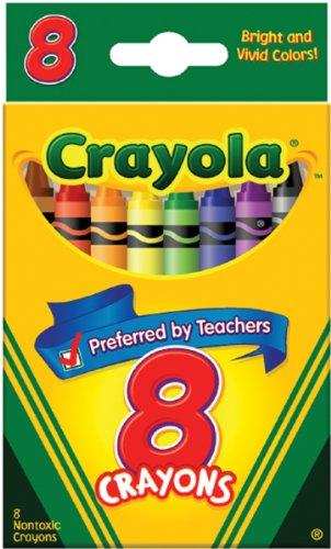 Crayola 52 3008 8 Ct Crayons