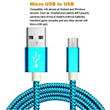 2pack 3.5ft Micro USB Cable Android Fast Charger