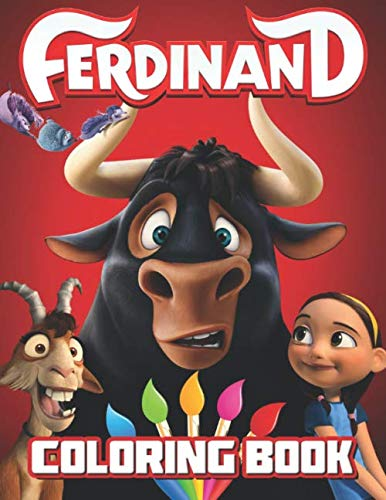 Ferdinand Coloring Book: Great 23 Illustrations for Kids (The Story Of Ferdinand By Munro Leaf)