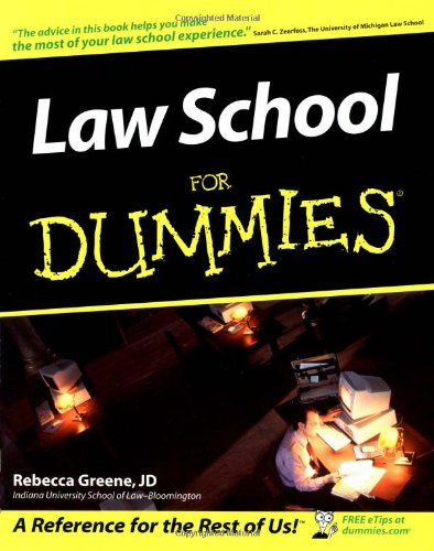 Law School For Dummies [Rebecca Fae Greene] (Tapa Blanda)