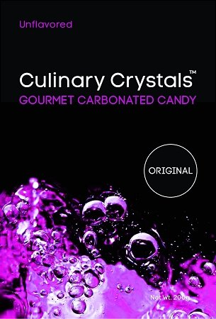 Culinary Crystals - Popping Candy/Popping Sugar (Unflavored) ⊘ Non-GMO ✡ OU-D Kosher Certified - 4oz/110g