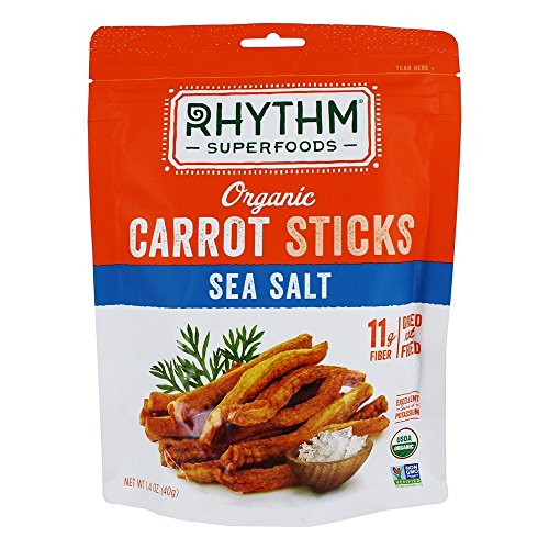 Rhythm Superfoods Organic Carrot Sticks Sea Salt - 1.4 oz.