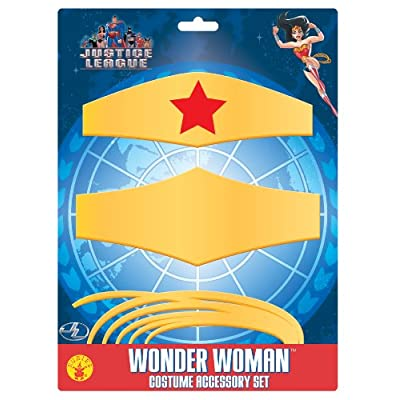Wonder Woman Child's Costume Accessory Set: Toys & Games