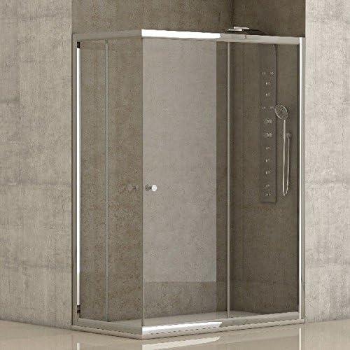 CV - Mampara de ducha 70x100x185cm: Amazon.es: Bricolaje y ...