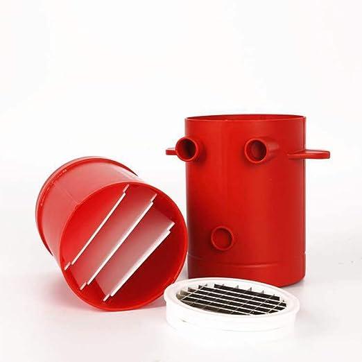 ocamo Máquina de Cortar Patatas seguro silicona horno de ...