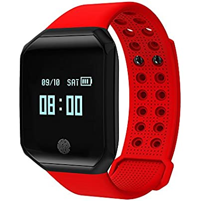 Lixada Muti-functional Smart Watch Sports Fitness Wristband Blood Pressure Heart Rate Tracker for Android and iOS Phone Estimated Price £24.99 -