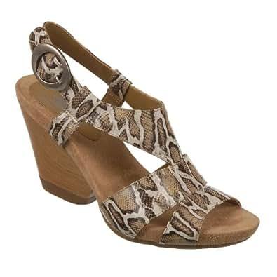 Dr. Scholl's Women's Wonder Slingback Sandal,Taupe Snake,11 M US