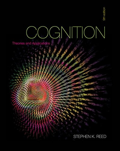 Cognition: Theories and Applications (Reed White Jersey)