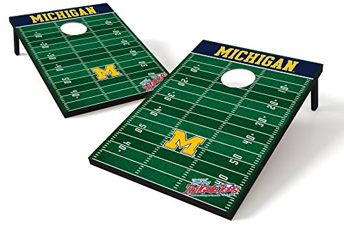 NCAA College Michigan Wolverines Tailgate Toss Game