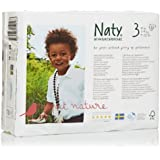 Naty by Nature Babycare ECO Nappies - Size 3, 4 x Packs of 31 (124 Nappies)