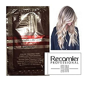 RECAMIER SALOON IN PRO COLOR INTENSIFIER TREATMENT PLATINUM 15 ML SACHET