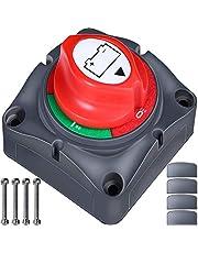 Master Switch Batterij 12V/24V - Batterij Uitgesneden Schakelaar - Master Batterij Isolator Ontkoppel Schakelaar Auto Batterij Kill Switch Accessoires Voor RV Yacht Boot Truck Bus Motorfiets Auto