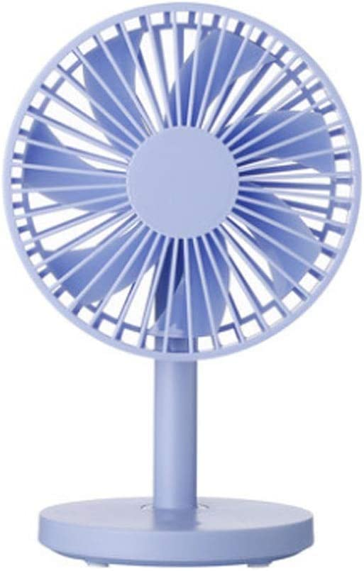 Yougou01 Electric Fan Color : Black 12.71020cm//5.0848 Inches, Black//Blue//Powder//White USB Mini Small Fan Large Wind Desktop Portable Electric Small Electric Fan