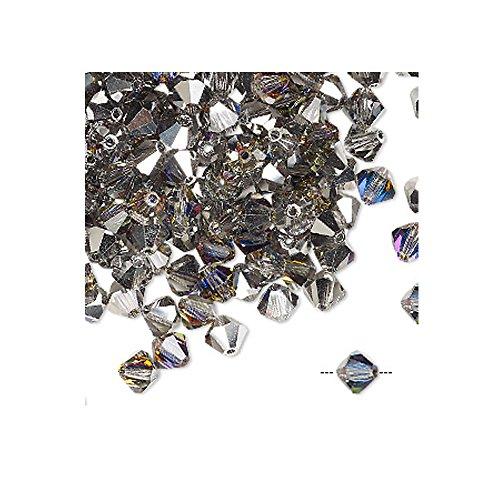 - Swarovski 5301 6mm Crystal Bicone Beads - Volcano AB - 21 Beads