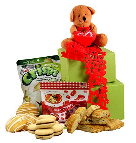 Gluten Free Palace Gluten Free Beary Sweet! Valentine's Day Gift Tower, -
