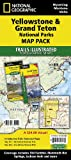 Yellowstone & Grand Teton National Parks Map Pack: Topographic Trail Maps