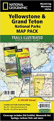 Yellowstone and Grand Teton National Parks [Map Pack Bundle ...