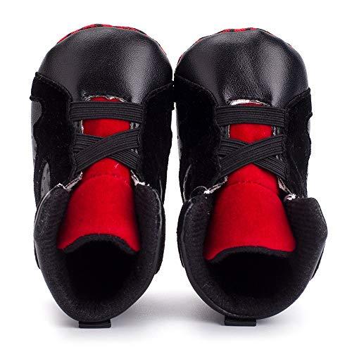 GéOméTrique Noir Nouveau GéOméTriques Palladium Occasionnels Femmes Basket Ball Basket Ball Sneakers Noir Talons OHQ De Ville Né Chaussures Souple BéBé Blanc Chaussure Impression qF8Oz