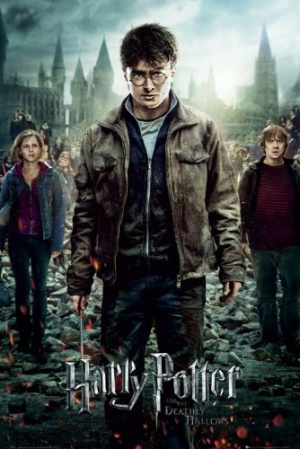 Click for larger image of Harry Potter And The Deathly Hallows: Part 2 - Movie Poster (Regular Style) (Size: 22' x 34')