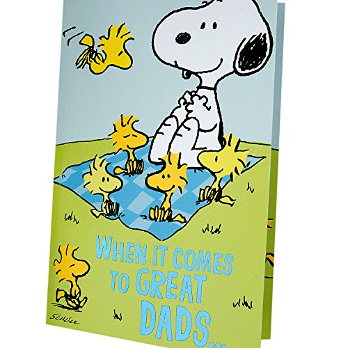Hallmark Father's Day Greeting Card from Child or Kids (Snoopy and Woodstock Peanuts Pop-Up) Photo #3