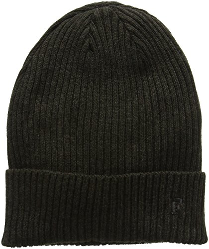 french-connection-mens-milo-mix-beanie-hat-cast-iron-griffin-o-s