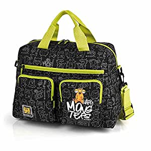 Gabol-Bolso Cambiador C/Acople a Carro Gabol Monsters: Amazon.es: Equipaje